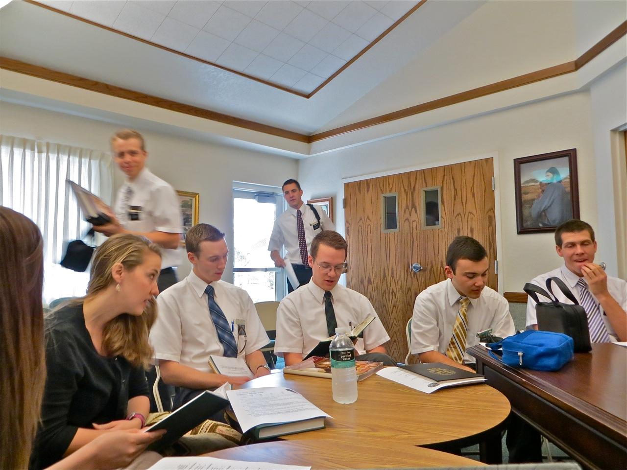 Ward missionary correlation meeting