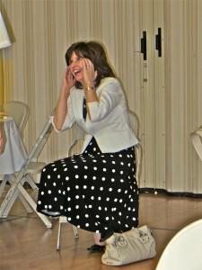 61 - 28mar13 - STS - Sis Anderson laughing