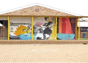 Feb 2014 - School Thembalidanisi Painting