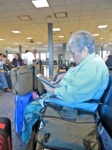 Feb 2014 - Waiting in Salt Lake airport