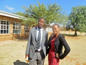 Apr2014 - Njabulo and Macy