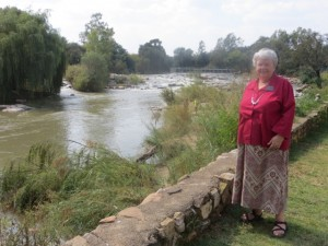 April2014 - Mary and the Vaal River 3