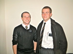 Missionary - Elder Perkins and Compton