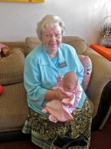 June 14 - Mary with Spiegelhoff baby