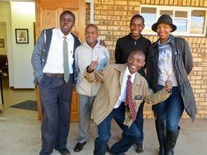 19Jul2014 - Kelem, KK, Omphile, Regie, Msangi in front.