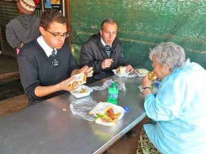 29Jul14 - Mary, Perez, Lohmann - lunch