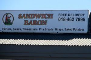 Aug 14 - Sandwich Baron