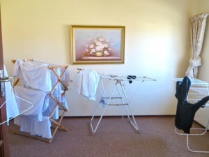 Aug 14 - drying clothes