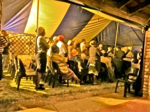 26sept14 - night tent meeting