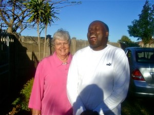 Aug 2009 - Mary and Pres Malinga