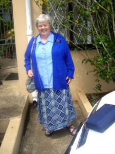 Mary in Blue - So Africa 2010