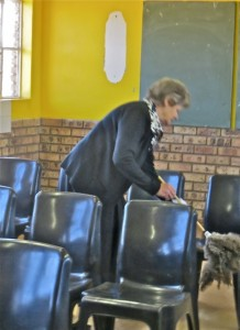 Oct14 - Sister Brummer cleaning