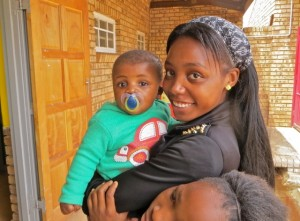 Oct14 - Thato and baby