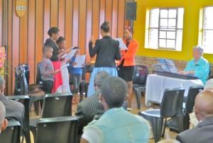 23nov14 -  Primary singing