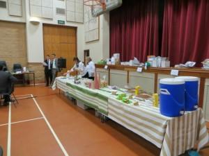 11dec14 - MT - food table