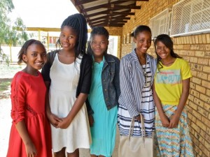 dec14 - young ladies, thato