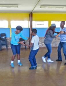 14Feb15 - Dance - Nasi, Jacque, Kea, Omphile