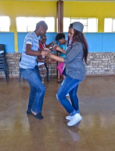 14Feb15 - Dance - Omphile, Kea, Viona, Nasi