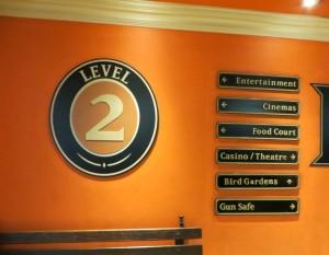 Feb15 - Monte Casino sign..gun vault