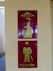 15June15 -Kruger Trip - Toilet Sign - Ladies- Gents