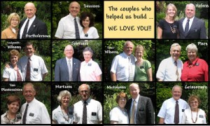 The couples who helped us build